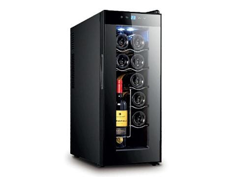 ตู้แช่ไวน์ ทรงสูง ประตูกระจกแบน<br>35 ลิตร (12 ขวด)