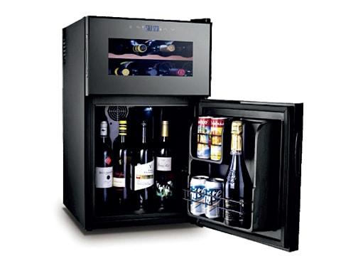 ตู้แช่ไวน์ 2 ประตู 2 ตอน<br>(69 ลิตร)