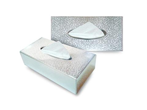 กล่องทิชชู่พลาสติก+อะคริลิค