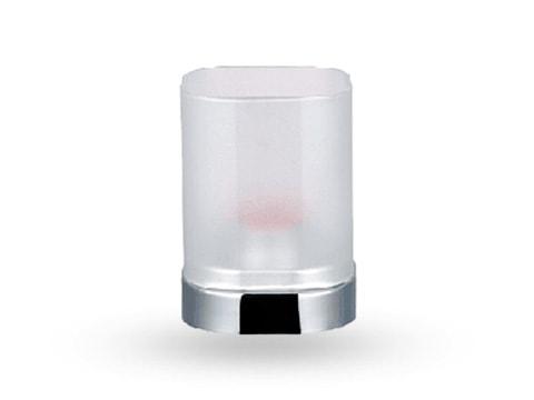 ที่ใส่เทียนหอม ทรงแก้วเหลี่ยมมน