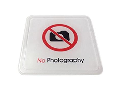 ป้ายสัญลักษณ์ No Photography
